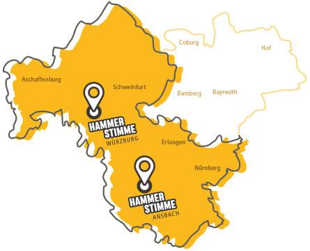 Hammerstimme Gesangsschulen Würzburg und Ansbach